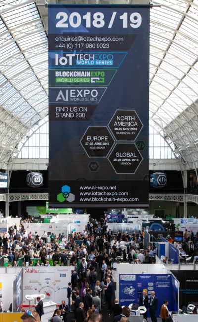 The world's largest Blockchain conference & exhibition
